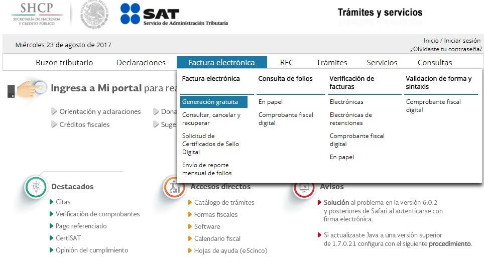 Facturación SAT -¿Cómo Facturar de forma Rápida?