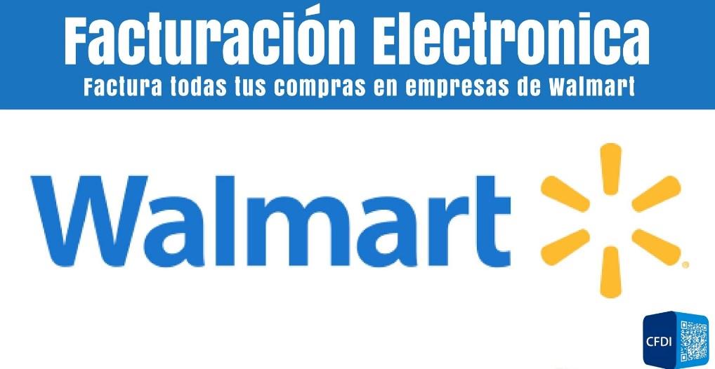 Facturación Walmart
