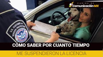 Cómo saber por cuanto tiempo me suspendieron la Licencia: Pasos para saber si me cancelaron la Licencia y sanciones por manejar sin Licencia