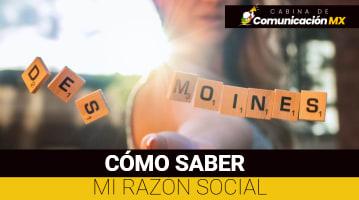 Cómo saber mi razón social: Cómo se autoriza el uso de la razón social, qué es la razón social y cómo tramitarla