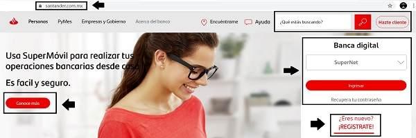 Cómo saber tu número de cuenta Banco Santander