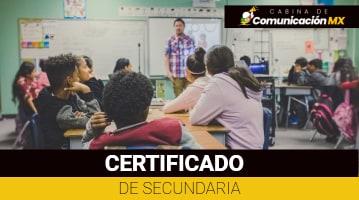 Certificado de Secundaria: Qué es, para qué sirve y sus requisitos