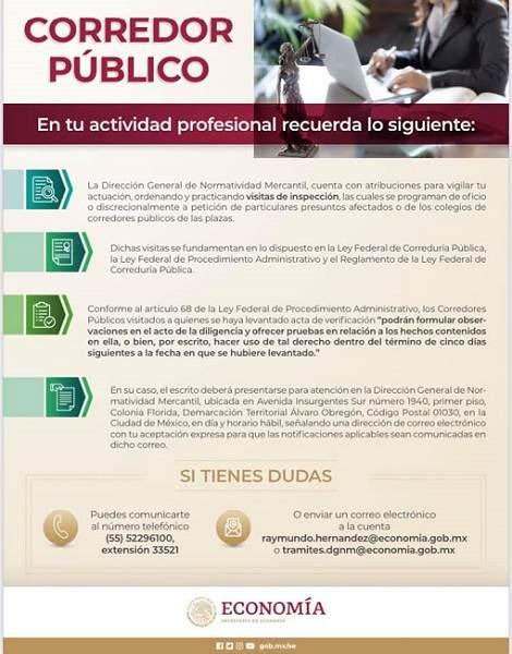 CORREDOR PUBLICO MEXICO