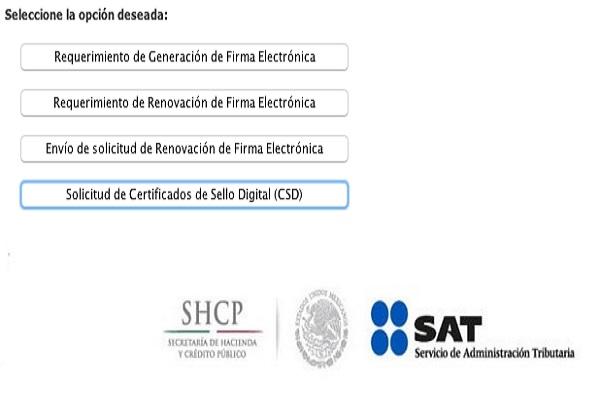 Certificado SAT