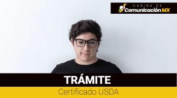 Certificado USDA: Qué es, sus requisitos y cómo tramitarlo