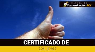 Certificado de Calidad: Qué es, para qué sirve y sus tipos