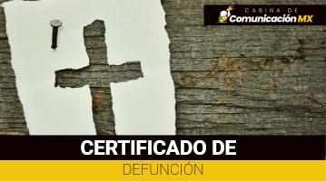 Certificado de Defunción: Qué es, cómo tramitarlo y su costo