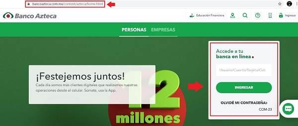 Cómo consultar el Estado de Cuenta Banco Azteca