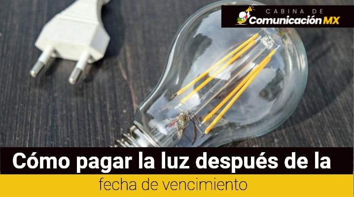 Cómo pagar la luz después de la fecha de vencimiento: Tipos de reconexion del servicio de luz y en cuánto tiempo se hace la reconexión