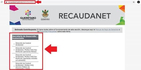 Cómo pagar multa de verificación en Querétaro
