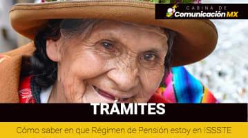 Cómo saber en que Régimen de Pensión estoy en ISSSTE: Régimen de Cuenta Individual ISSSTE y Régimen de Reparto