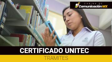 Certificado UNITEC: Qué es, cómo tramitarlo y sus requisitos