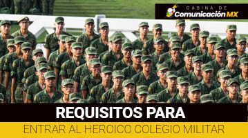 Requisitos para entrar al Heroico Colegio Militar: Cómo entrar al Heroico Colegio Militar, qué carreras ofrece y quiénes pueden estudiar en el Heroico Colegio Militar