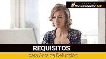 Requisitos para Acta de Defunción: Pasos a seguir para tramitar el Acta de Defunción, para qué sirve y qué información contiene