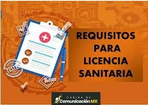Requisitos para Licencia Sanitaria