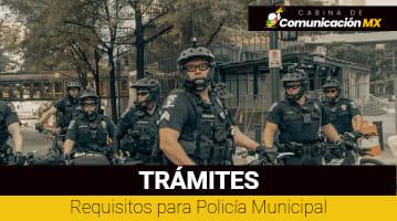 Requisitos para Policía Municipal: Funciones de un Policia Municipal, exámenes para ser Policia y cuánto gana
