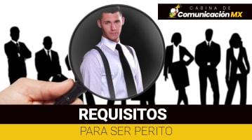 Requisitos para ser Perito en México: Requisitos para persona natural, para persona jurídica y funciones de un Perito