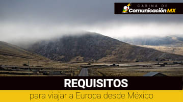 Requisitos para viajar a Europa desde México: Documentos solicitados, permiso de viaje y aerolineas que viajas a Europa desde México