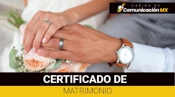 Certificado de Matrimonio: Para qué sirve, sus requisitos y como tramitarlo