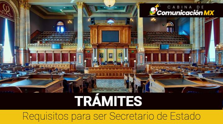 Requisitos para ser Secretario de Estado: Funciones de un Secretario de Estado, importancia, y quiénes los eligen