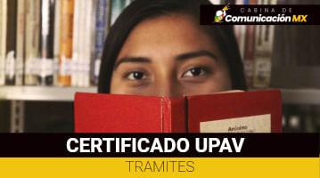 Certificado UPAV: Qué es, para qué sirve y su validez