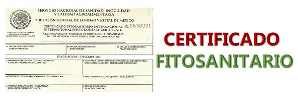 ¿Qué productos necesitan Certificado Fitosanitario?