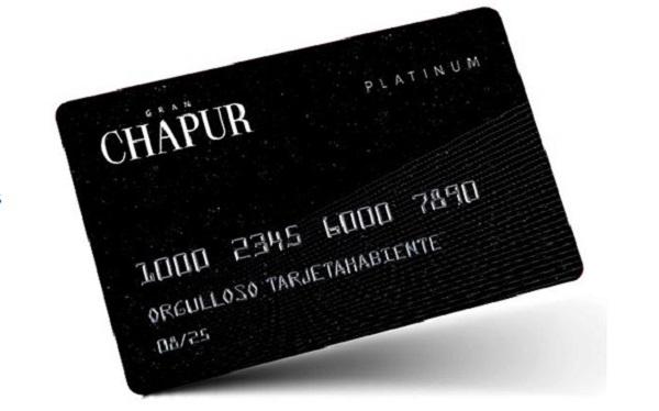 tarjeta chapur