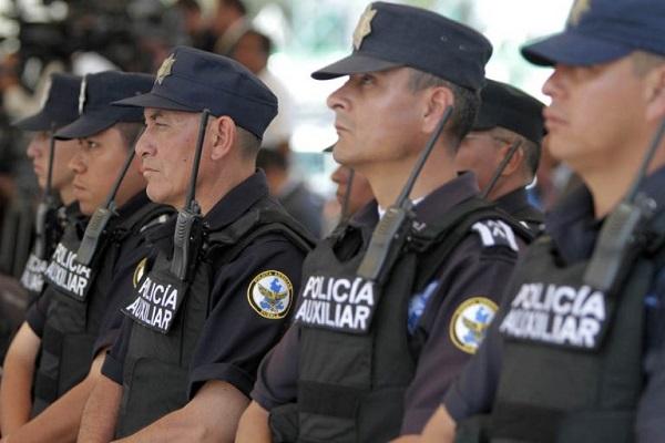requisitos para la policía auxiliar
