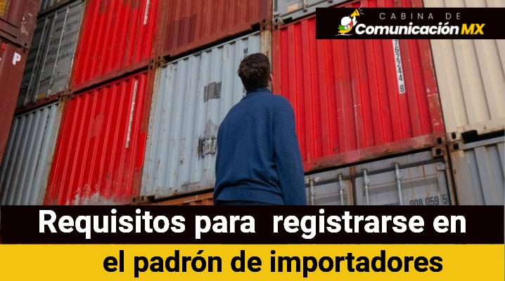 Requisitos para el padrón de importadores: Documentación requerida, cuándo se presenta y quiénes pueden presentar el padrón de importaciones