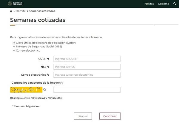 COMO CONSULTAR SEMANAS COTIZADAS DEL IMSS