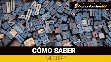 Cómo saber mi Curp: Qué es el Curp y su significado, cómo imprimir el Curp y qué hacer si mi Curp tiene un error