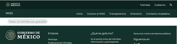 TRAMITES GRATUITOS SEGUN EL IMSS