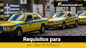 Requisitos para ser Uber en México: Qué es Uber, sus servicios y cómo entrar a Uber