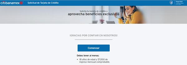 Cómo solicitar una Tarjeta de Crédito Banamex