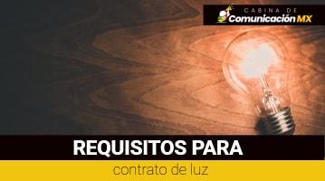 Requisitos para contrato de Luz: Cómo tramitar un contrato de Luz, requisitos para darlo de alta y más.