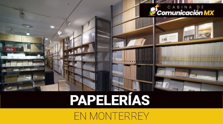 Papelerías en Monterrey