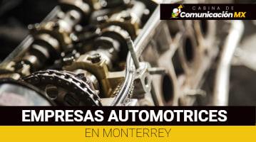 Empresas automotrices en Monterrey