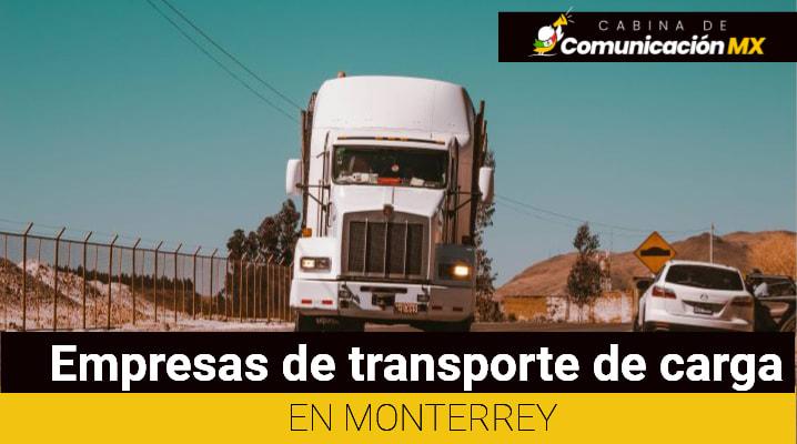 Empresas de transporte de carga en Monterrey