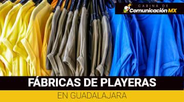 Fábrica de playeras en Guadalajara