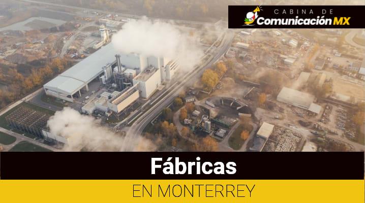 Fábricas en Monterrey
