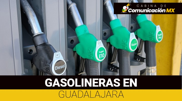 Gasolineras en Guadalajara