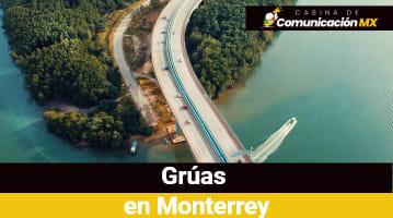Grúas en Monterrey