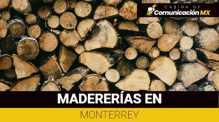 Madererías en Monterrey