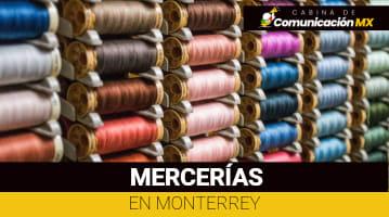 Mercerías en Monterrey