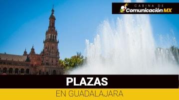 Plazas en Guadalajara