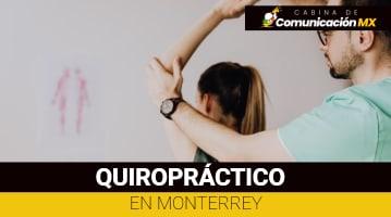 Quiropráctico en Monterrey