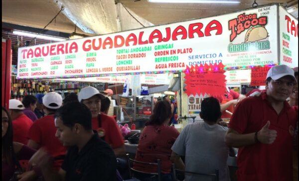 Taquerías en Guadalajara