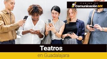 Teatros en Guadalajara