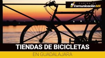 Tiendas de bicicletas en Guadalajara