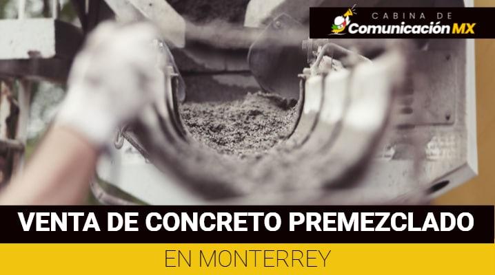 Venta de concreto premezclado en Monterrey